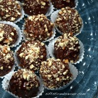 CHOCOLATE HAZELNUT TRUFFLES- Vegan, Gluten-Free & Refined Sugar-Free