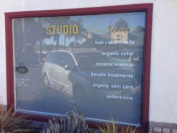 Sign-Authority Window Lettering