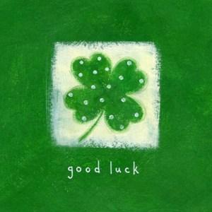 verde color de la suerte