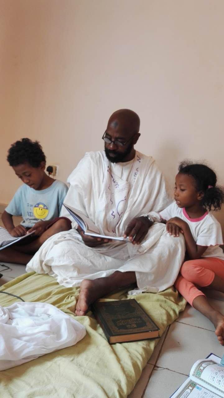 instructing children