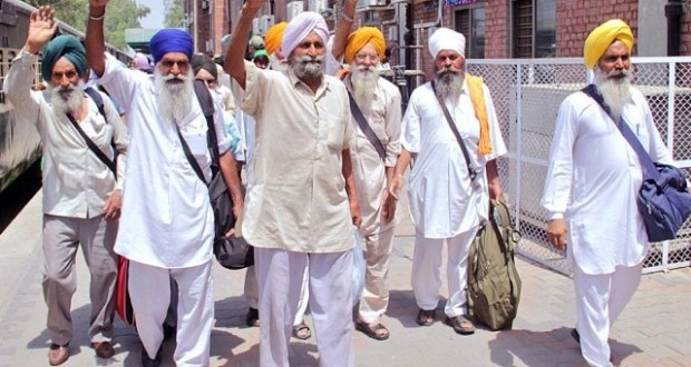 Sikh pilgrims in Pakistan