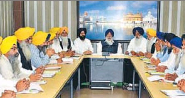 SGPC executive passes 905-cr budget for 2014-15