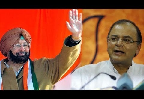 Capt questions Jaitley's silence on Punjabi farmers' plight in Gujarat