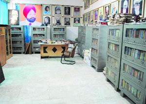 The Dhaniram Chatrik Library at Virsa Vihar in Amritsar