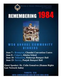 Upcoming WSO June Events- Remembering 1984