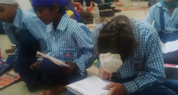 Harpreet Singh focussing on his writing