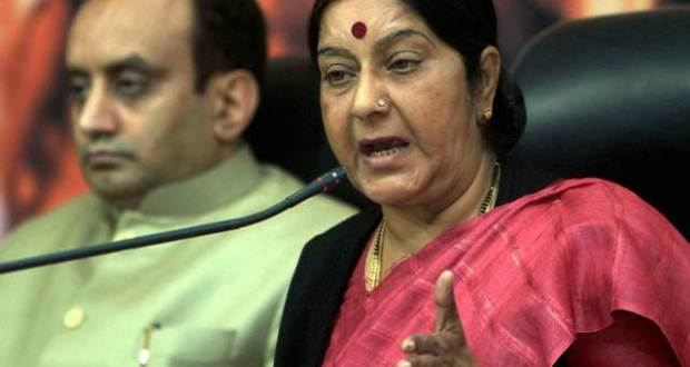Killing of Sikhs in Pak SGPC writes to Sushma Swaraj