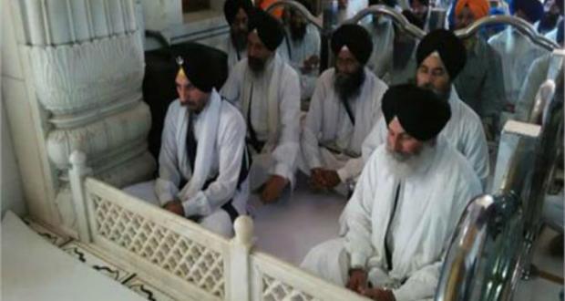 Panj Pyares at Sri Akal Takht Sahib
