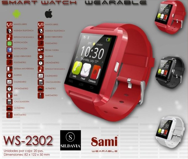 reloj sami wearable