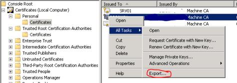 export to pfx
