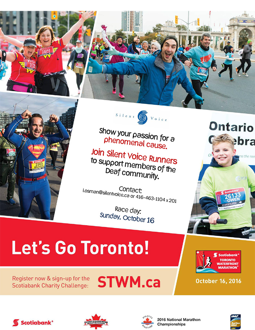 Scotiabank Toronto Waterfront Marathon - October 16, 2016
