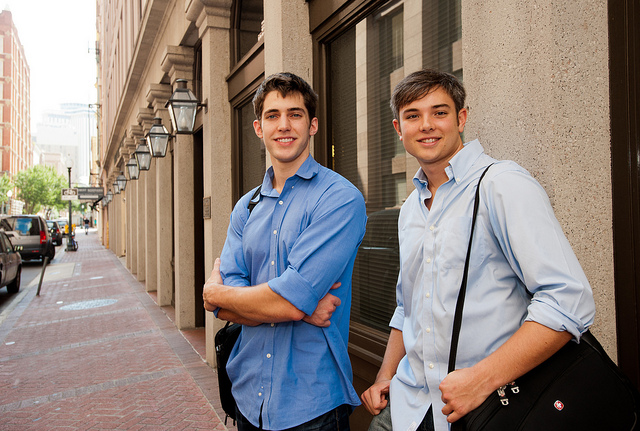 Brendan Finke and Joe McMenemon moved to New Orleans to start ChapterSpot.com and are now contributing to the city's growth.