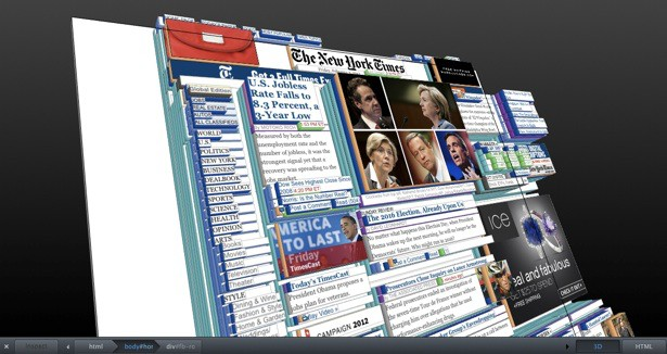 Page inspector 3d