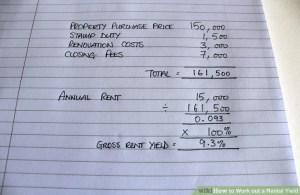 AA AA Rent Yield