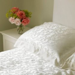 Jacquard Silk Pillowcases | Range of Jacquard Silk Bedding from Silkwood Silk