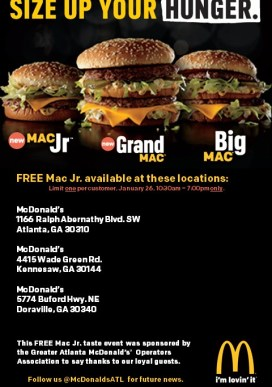 Big Mac Event Locations--Social Media (3)