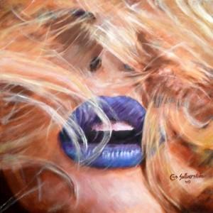 """Luscious 24""""x24"""" Oil on Canvas"""