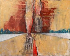"Runner 12""x16"" Oil on Canvas"