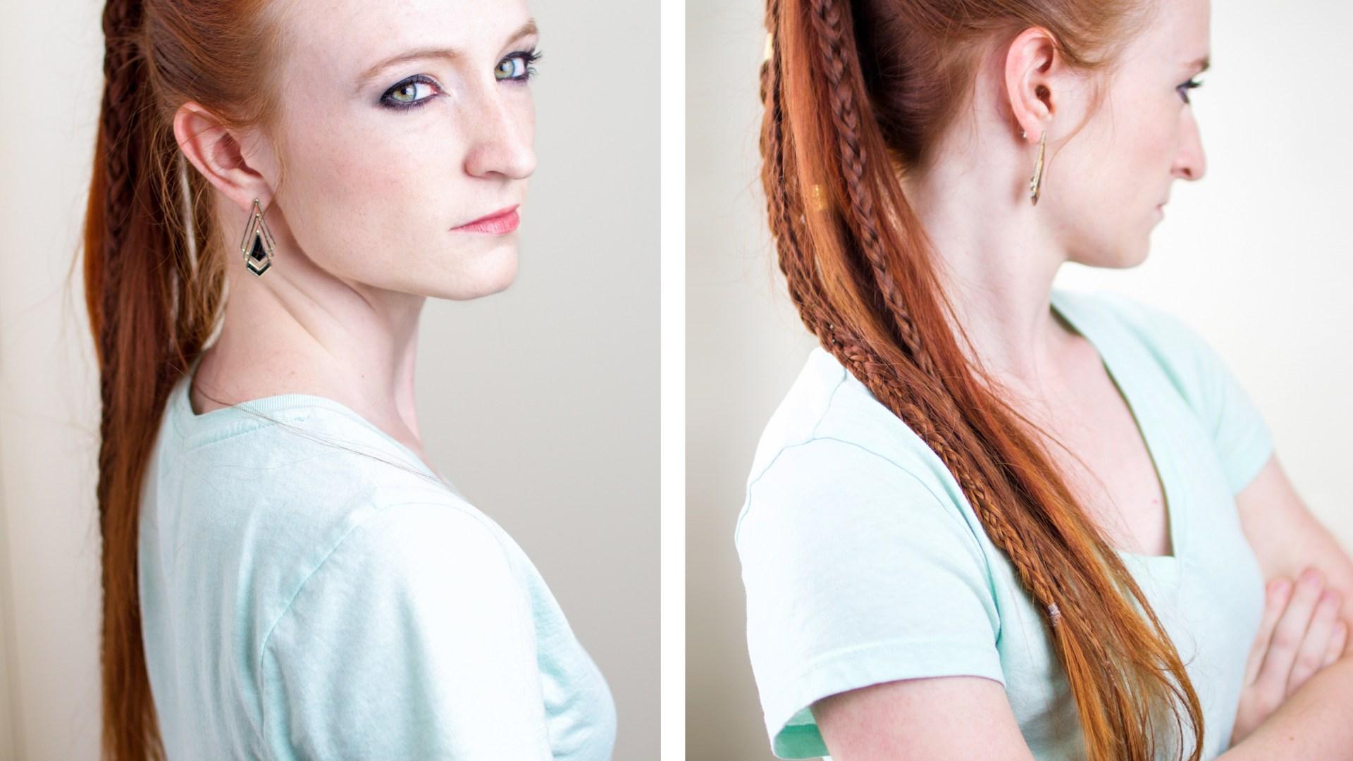 Torvi the Shieldmaiden – Braided Hairstyles