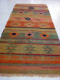 Oud Kaukasische Shirvan Kelim  310 x 133