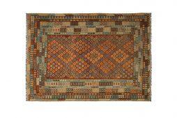 Oosterse Afghaan Khyber kelim  355 x 246 cm