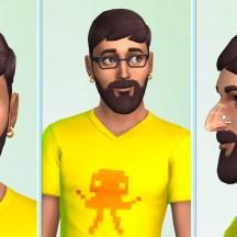 The Sims 4 Create-A-Sim Face 3