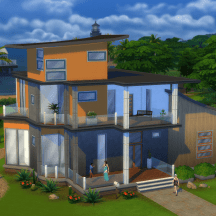The Sims 4 Tropical House