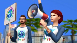 Protests Sims 4