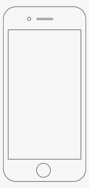 Iphone Outline PNG & Download Transparent Iphone Outline PNG Images for Free - NicePNG