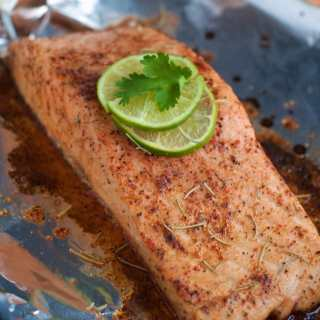 Make this moist and flavorful Salmon in 15 minutes or less
