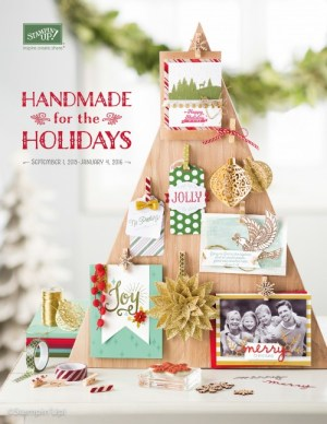 Stampin' Up! Australia - Christmas Holiday Catalogue. Available from www.simonebartrum.com.