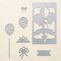 142753 - Balloon Pop-Up Thinlits Dies by Stampin' Up!