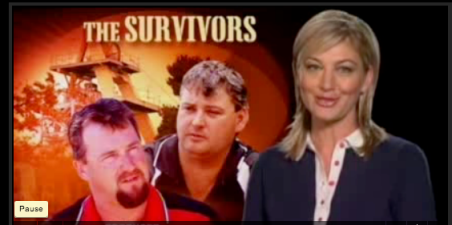 The Beaconsfield Miners Brant Webb and Todd Russell appeared on 60 Minutes more than once.