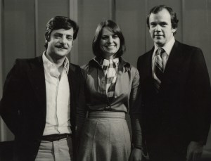 Rosanna Townsend with Mike Willisee and Giancarlo Giannini