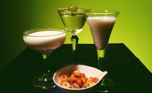 van gogh pbj, three olives smores, three olives loopy vodkas cocktails