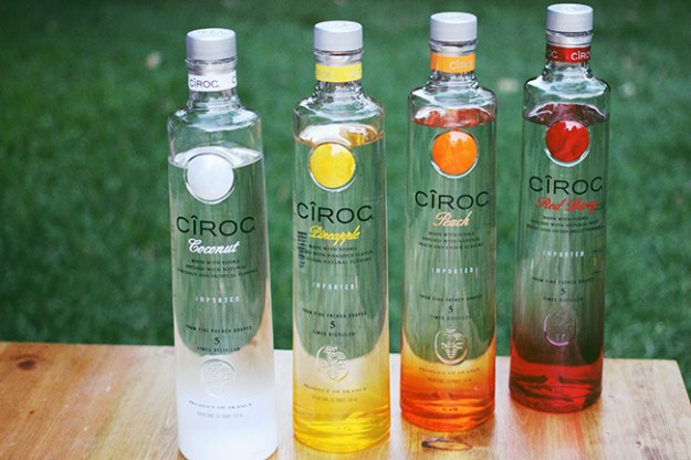 ciroc flavored vodkas