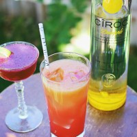 Cocktails with Ciroc Pineapple