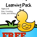 Duck Learning Play and Printable