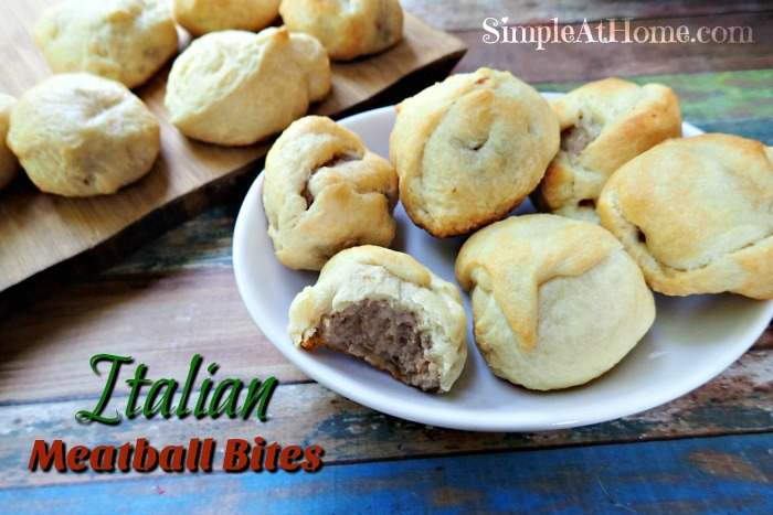 Italian Meatball Bites