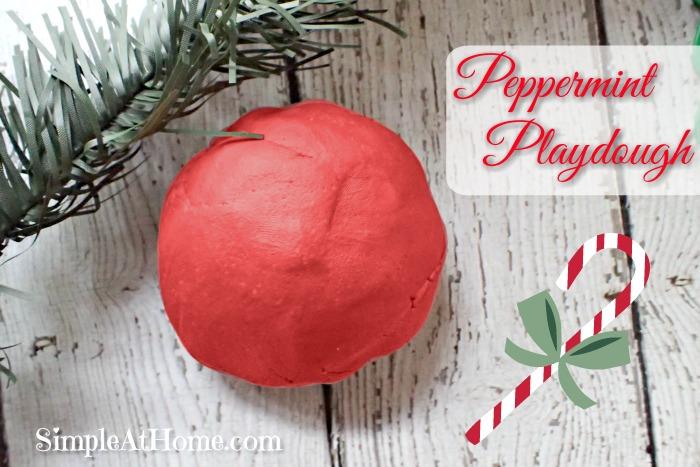 Peppermint Playdough