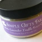 Chocolate Lavender Truffle Foot Creme