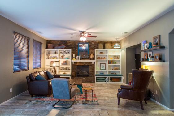 Living Room makeover - big change!
