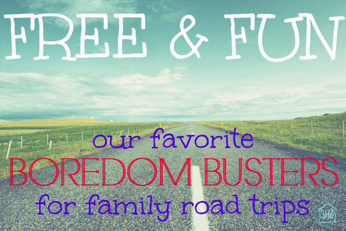 free and fun road trip boredom busters - for families with preschool age kids