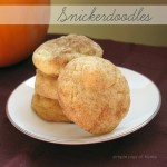31 Days of Autumn {Day 3}: Snickerdoodle Cookies