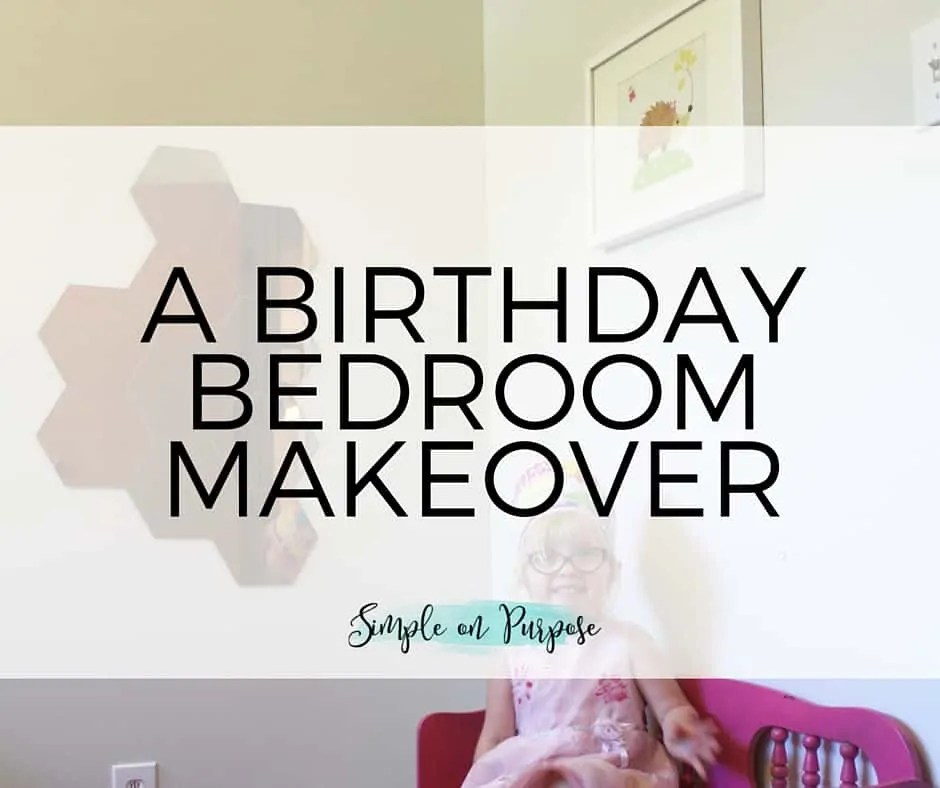 Nena's Birthday Bedroom
