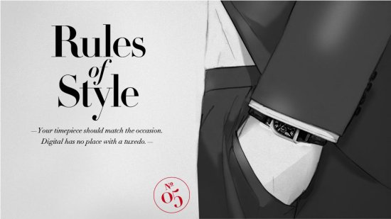 style note 05 Style rules   part 2