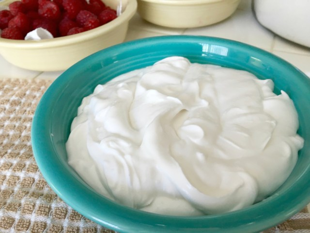 Coconut Cream Whipped - Simple Sojourns
