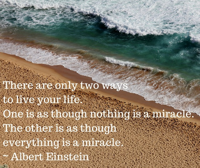 There are only two ways to live your life - Simple Sojourns
