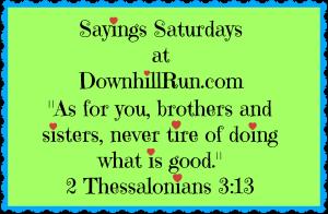 Sayings Saturday 10 31 2015
