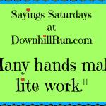 Sayings Saturdays